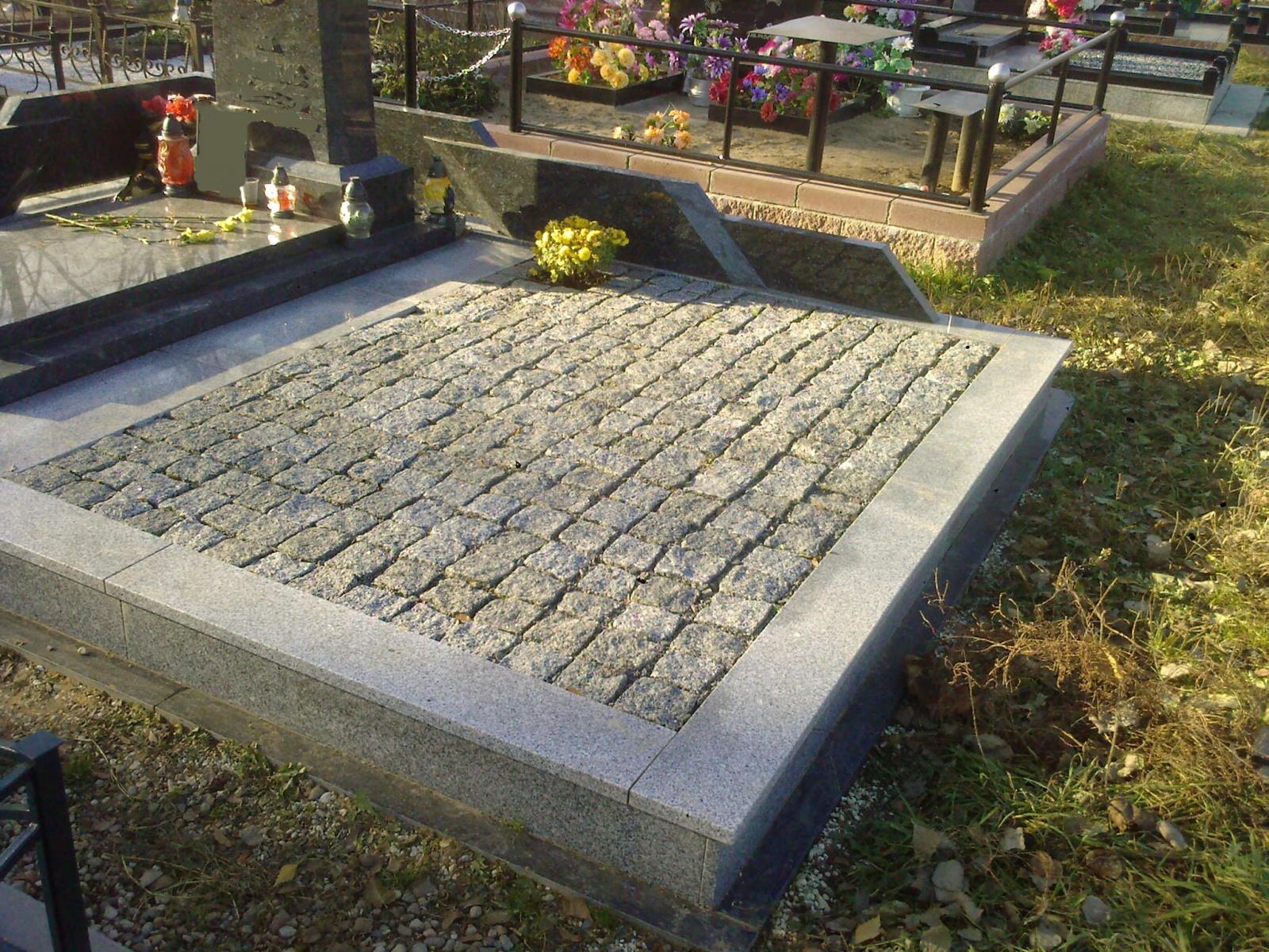Укладка плитки на кладбище своими руками 18